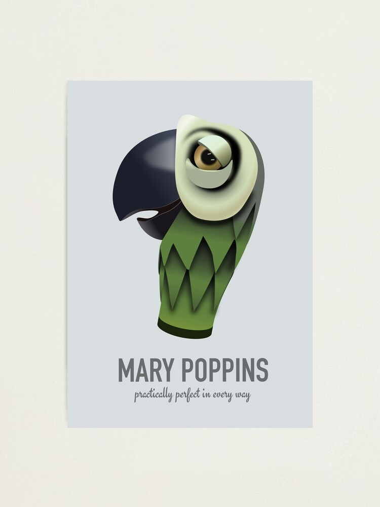 Alternate view of Mary Poppins - Alternative Movie Poster Photographic Print