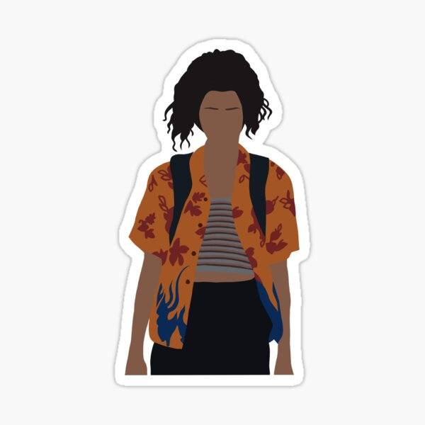 rue bennett euphoria Sticker