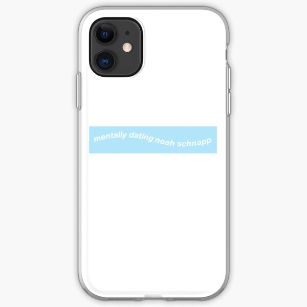 Mentally dating Noah Schnapp iPhone Soft Case
