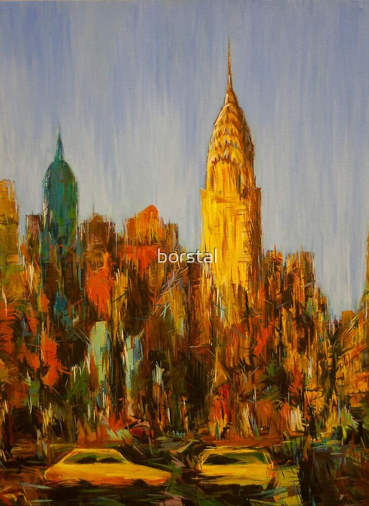 Manhattan by borstal