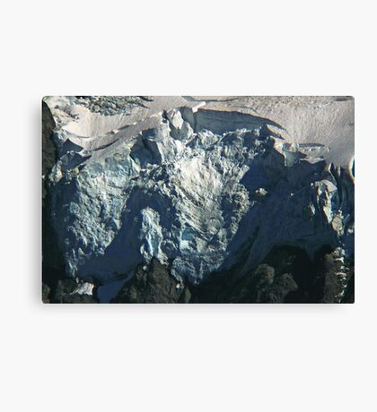 glacier face detail Canvas Print