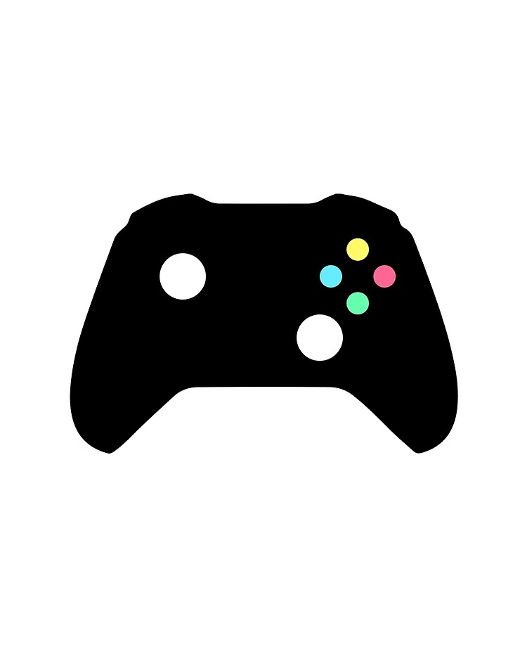 Video Game Controller Silhouette Ipad Case Skin By Corrochdesigns Redbubble