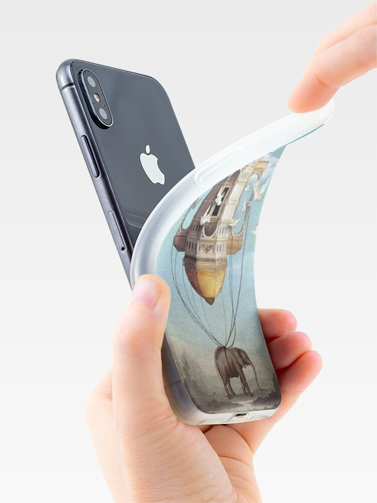 Alternate view of Imaginary Traveler iPhone Case & Cover