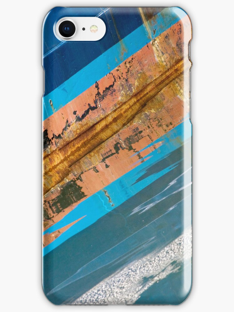 Sometimes You Get A Distorted View When You Reflect Too Much On Something iPhone case. by Todd Rollins