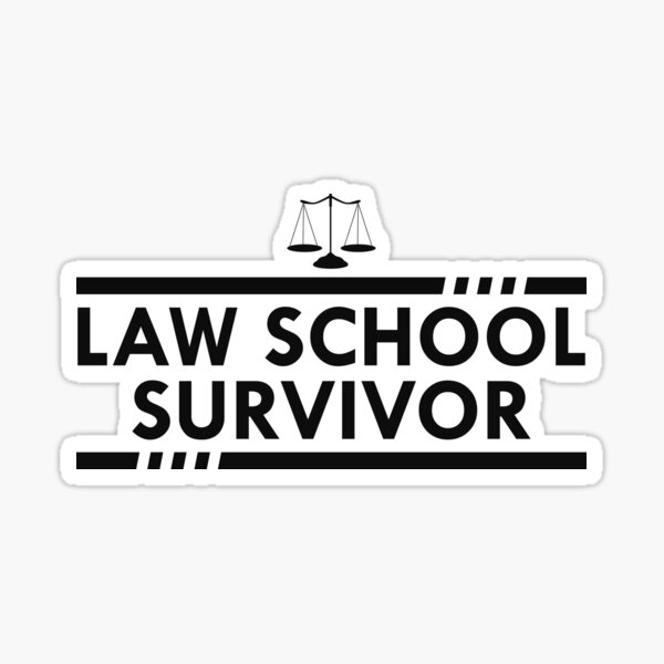 Law School Survivor Sticker