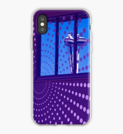 Blue Seattle iPhone case. iPhone Case