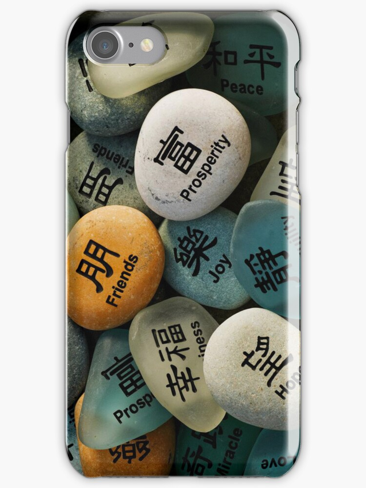 Best Wishes iPhone case. by Todd Rollins