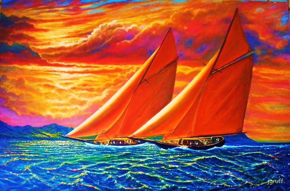 Golden Sails by jyruff