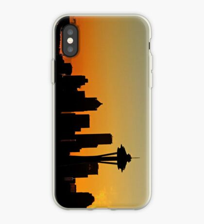 A Northwest Morning iPhone case. iPhone Case