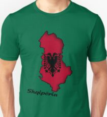 Zammuel's Country Series - Albanian (Albanian text) Unisex T-Shirt