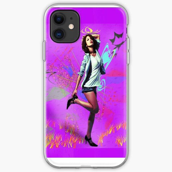 Fun Girl Pink iPhone Soft Case
