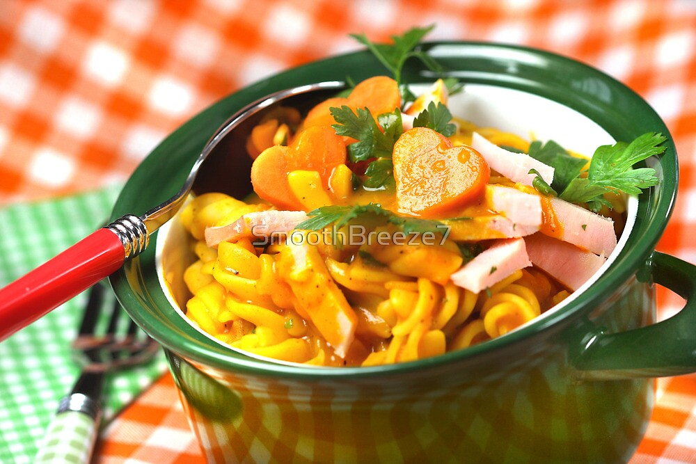 Punpkin, Pasta And Parsley by SmoothBreeze7