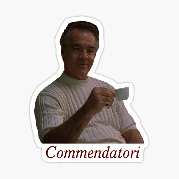Paulie Commendatori Sticker