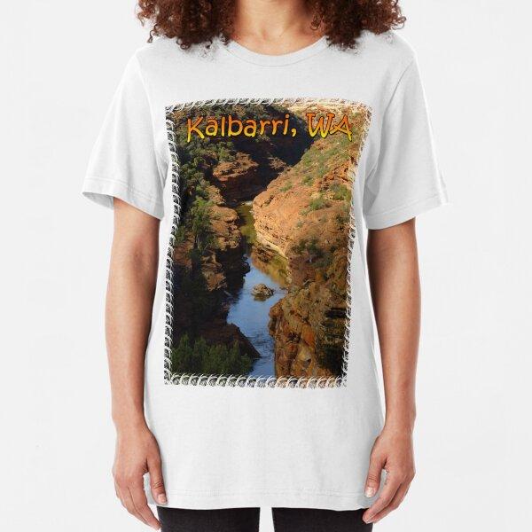 Z bend, Kalbarri Slim Fit T-Shirt