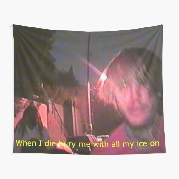 Lil Peep Witchblades Tapestry