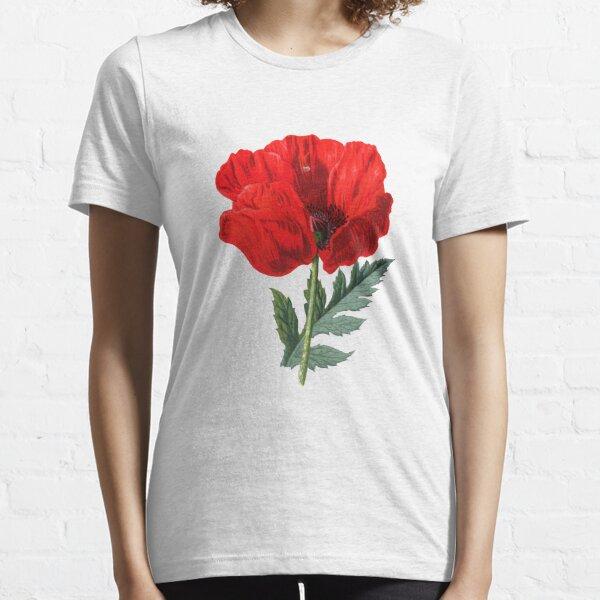 Vintage Poppy Essential T-Shirt