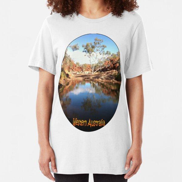 Wanna Munna, Western Australia Slim Fit T-Shirt