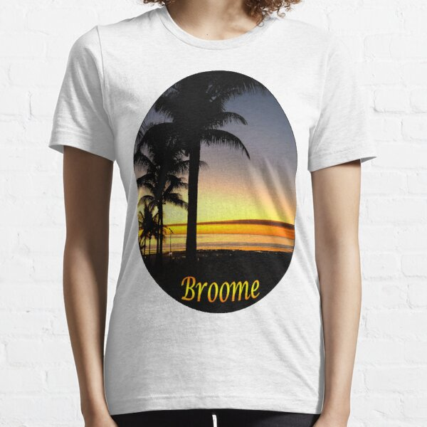 Tropical Sunset, Broome Essential T-Shirt