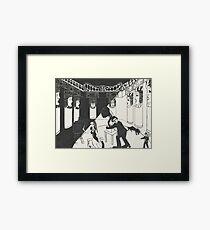 Artnapping Framed Print