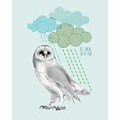 Singing in the rain - blue by MadeByLen
