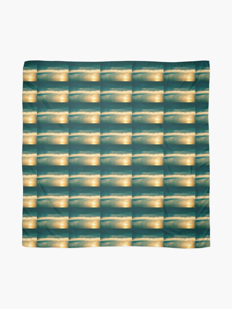 Alternate view of Calming Moment Landscape Scarf