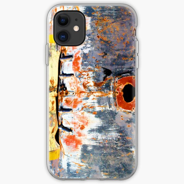 Abstract Graffiti Car Bonnet iPhone Soft Case