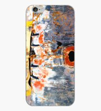 Abstract Graffiti Car Bonnet iPhone Case