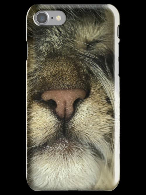 Tabby Cat Portrait Phone Case Cover by anjafreak