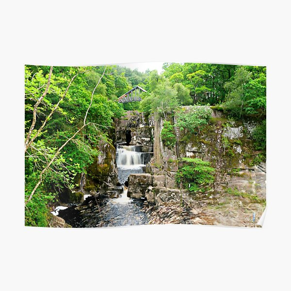 Bracklinn Falls Callander | The Trossachs National Park | Scotland Poster
