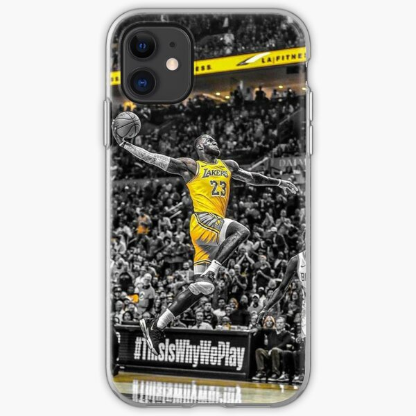 Lebron James iPhone Soft Case