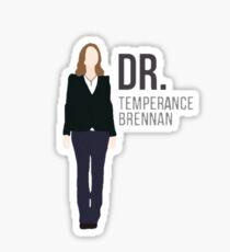 Dr. Temperance Brennan Sticker