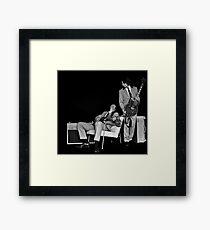 Jimmy Beat... Framed Print