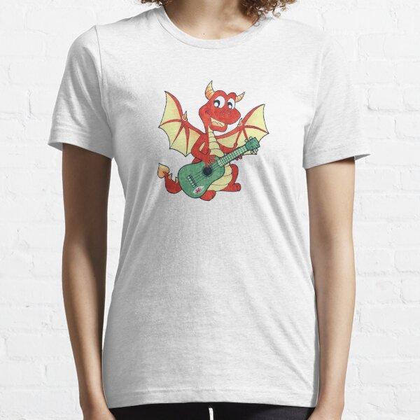 Ukulele Wales Dragon Uke Essential T-Shirt