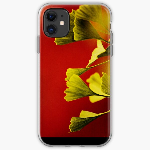 Vivid Ginkgo iPhone case. iPhone Soft Case