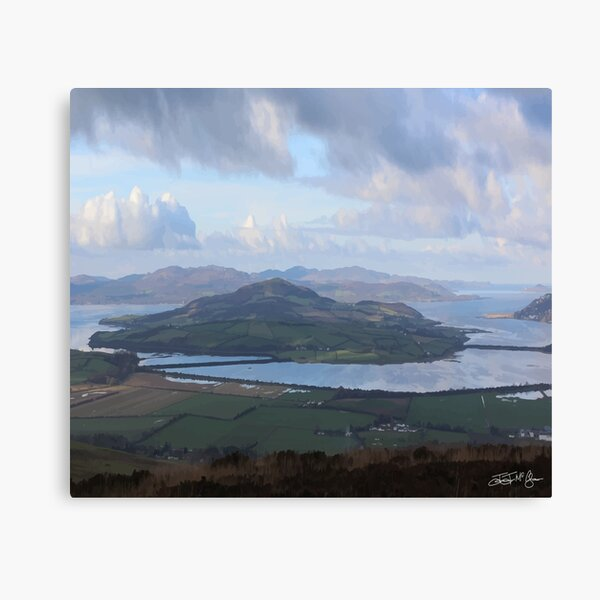 Inch Island Canvas Print