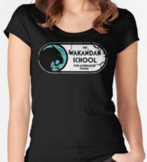 The Wakandan School For Alternative Studies Women's Fitted Scoop T-Shirt