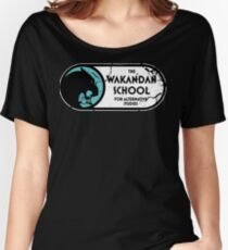 The Wakandan School For Alternative Studies Women's Relaxed Fit T-Shirt