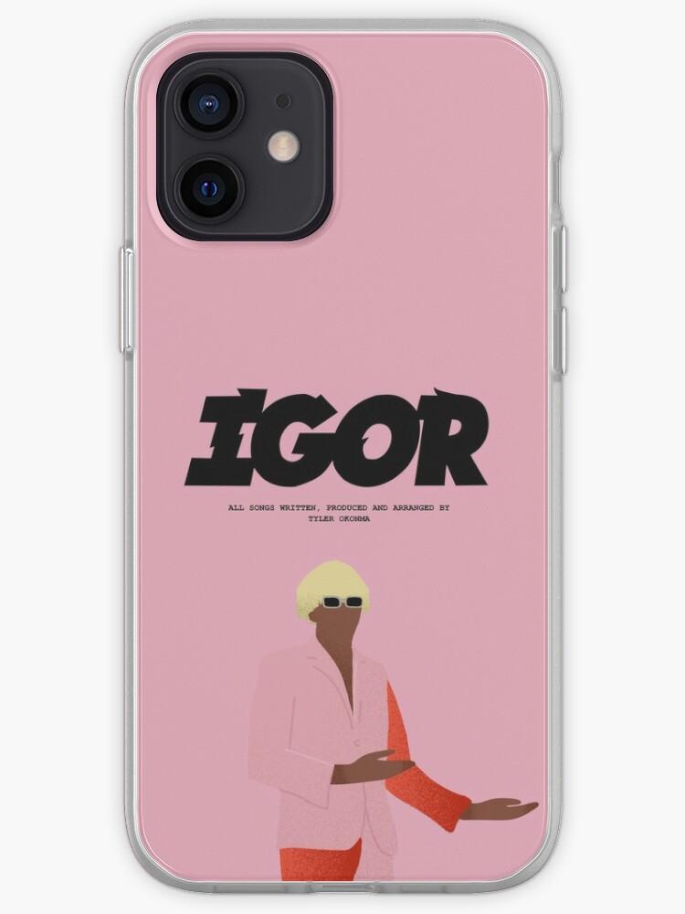Affiche IGOR - Tyler le créateur   Coque iPhone