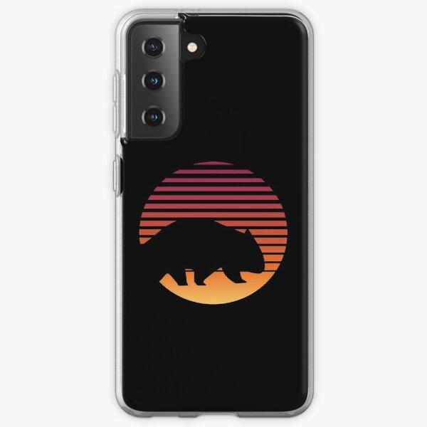 Wombat Retro Cute Australia Wilderness Wild Animal Samsung Galaxy Soft Case