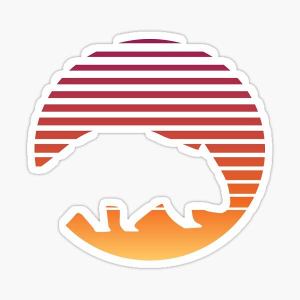 Wombat Retro Cute Australia Wilderness Wild Animal Sticker