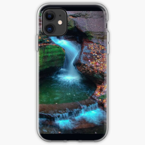 Adams Falls (iPhone Case) iPhone Soft Case