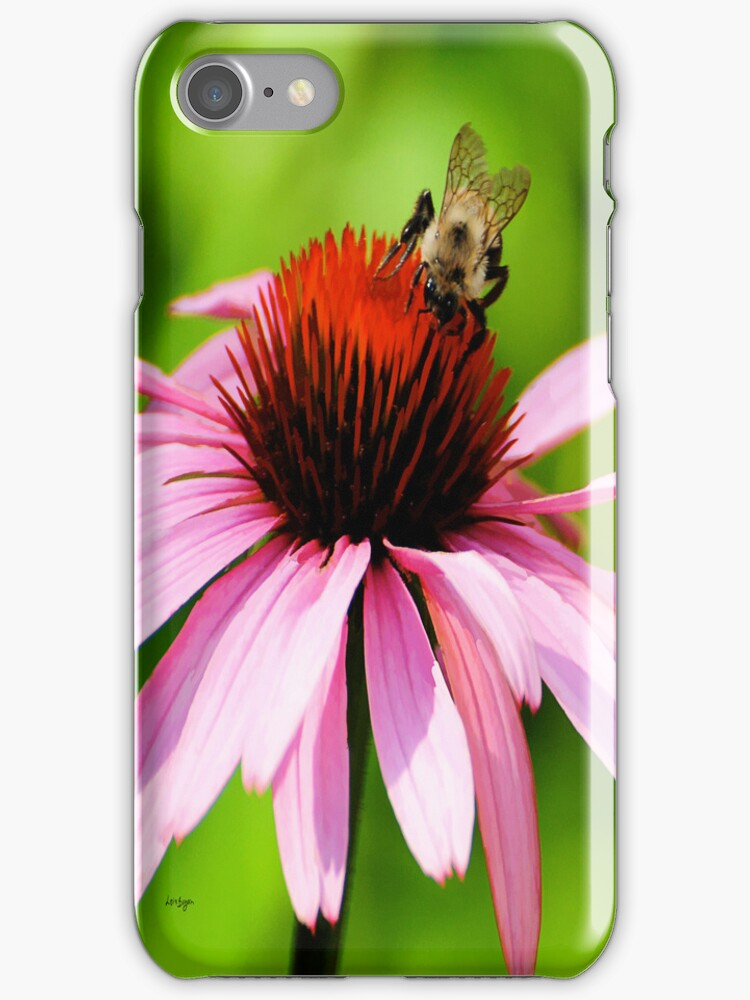Busy In Pink - iPhone Case by Lois  Bryan