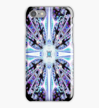 Stained Glass Cross iPhone iPhone Case/Skin