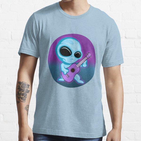 Ukulaliens Ukulele Club Single Uke Essential T-Shirt