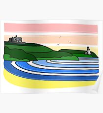 Pendennis Castle, Falmouth Poster