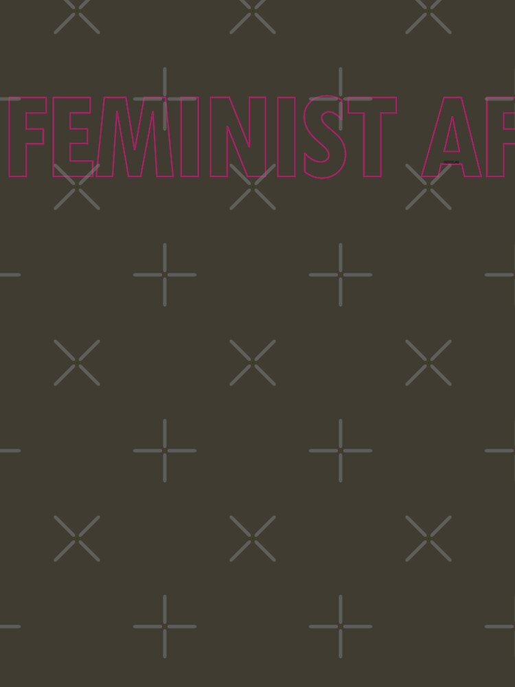 FEMINIST AF - Pinkish and Transparent by willpate