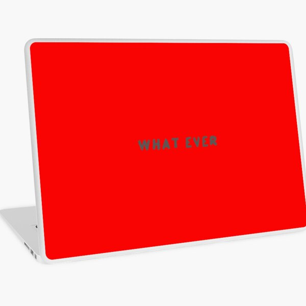 Scripture: What Ever Laptop Skin