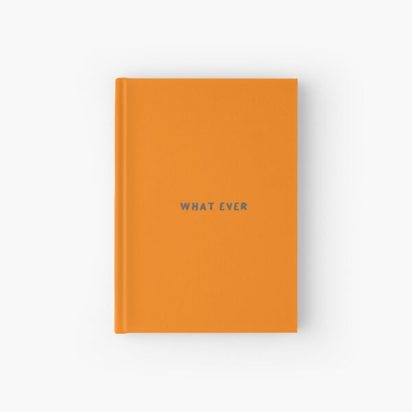 Scripture: What Ever Hardcover Journal