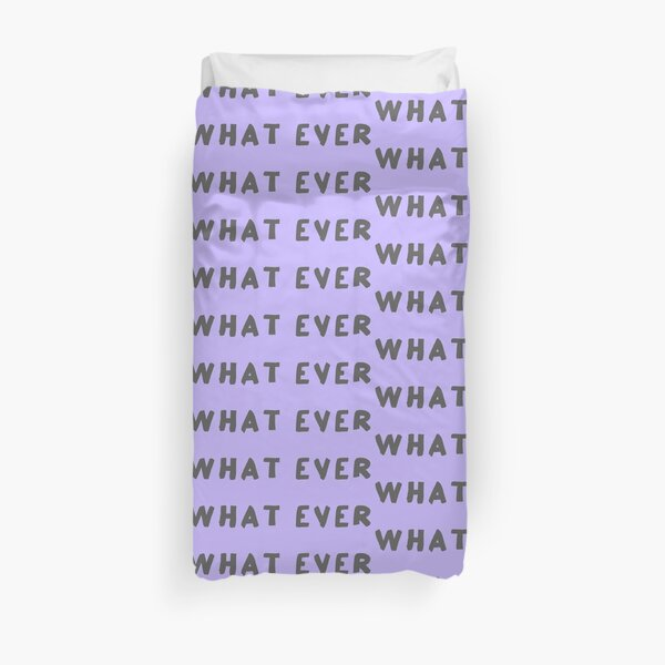 Scripture: What Ever Duvet Cover