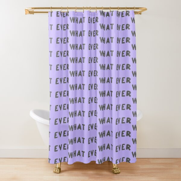 Scripture: What Ever Shower Curtain